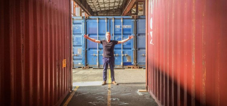"""Der """"Container-Flüsterer""""…"""